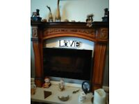 FIRE SURROUND/SHABBY CHIC PROJECT £50 ONO