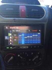Car speaker & screen set