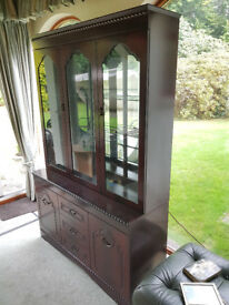 Large Display Cabinet with interior lighting