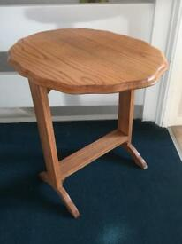Vintage retro Occasional table. Solid Oak.