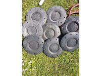 Vw wheel cap centres