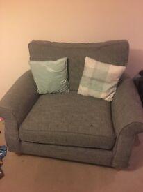 Next Grey Cuddle Chair