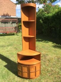 Nathan tall, teak corner unit very good condition. Buyer collects any time.