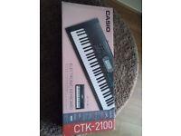 Casio Electronic Keyboard CTK-2100