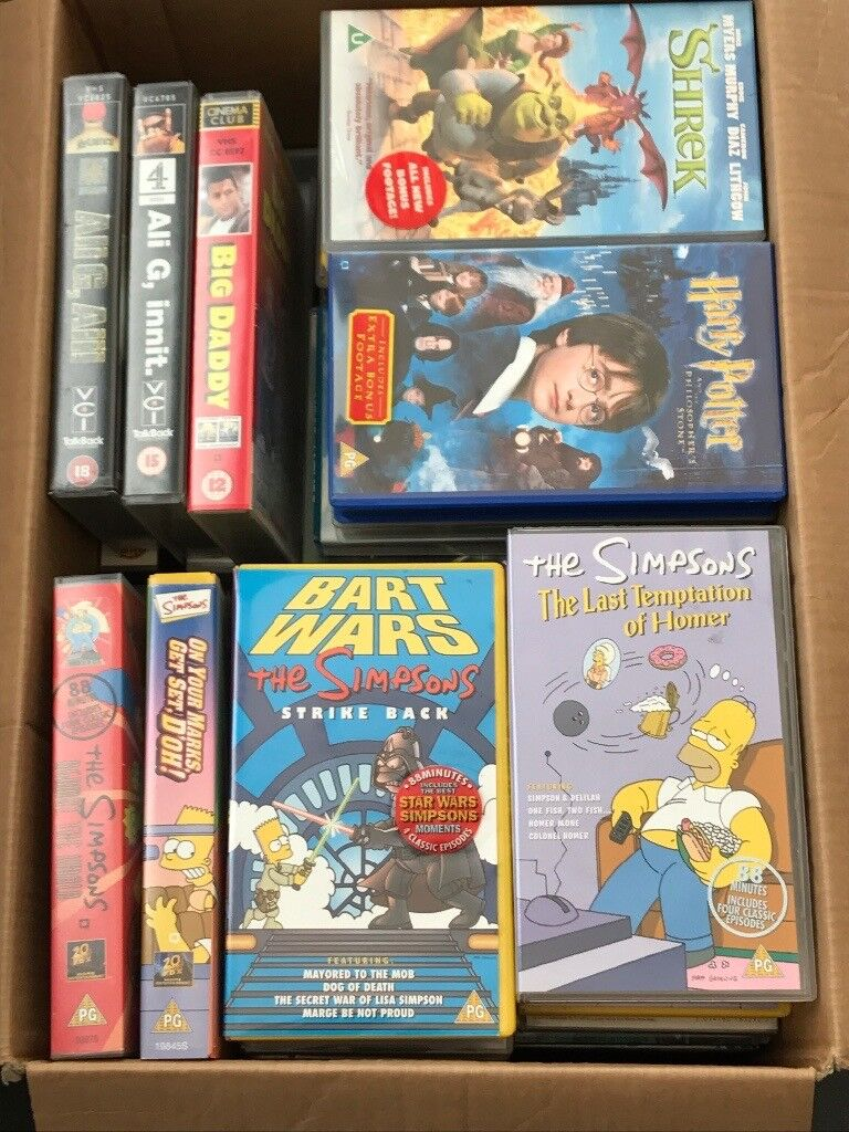 Friends Simpsons Vhs Videos In Whitburn West Lothian