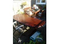 Oval extendable table for sale