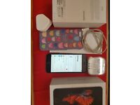 Iphone 6s 64gb space gray o2 like new with receipt