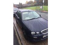 Rover 25 1.4 petrol,Dark blue, 11 months MOT.