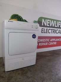 Candy 8kg Condenser Dryer.Excellent Condition.+6 Month Warranty.Delivery* and Removal of Old Unit.