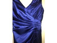 Cobalt blue bridesmaid dress size 8/10