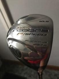 King cobra driver with cover