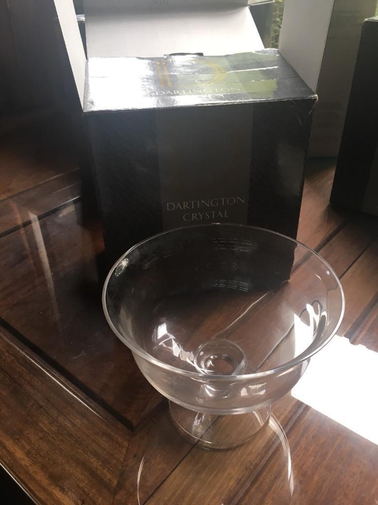 Dartington Regency crystal bowl