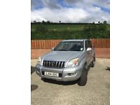 Toyota Land Cruiser 3.0 D4D for sale. Full leather interior in excellent condition