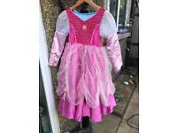 Bundle of 5 Disney princess/ fairy dressing up outfits