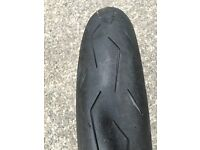 Pirelli Supercorsa Front Road legal Race Tyre 120/70/17 SC1 (soft) Compound