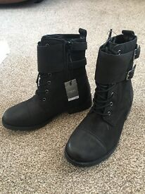 Brand new next size 13 boots