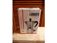 New Boxed Bialetti Moka Express Stove Top Italian Espresso Coffee Maker 6 Cup
