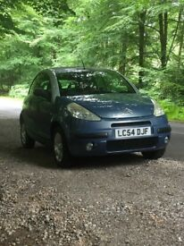 Lovely convertible Citroen C3 Plural for sale, with rare leather interior