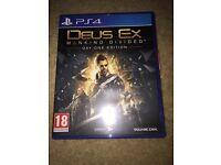 Deus ex ps4 game
