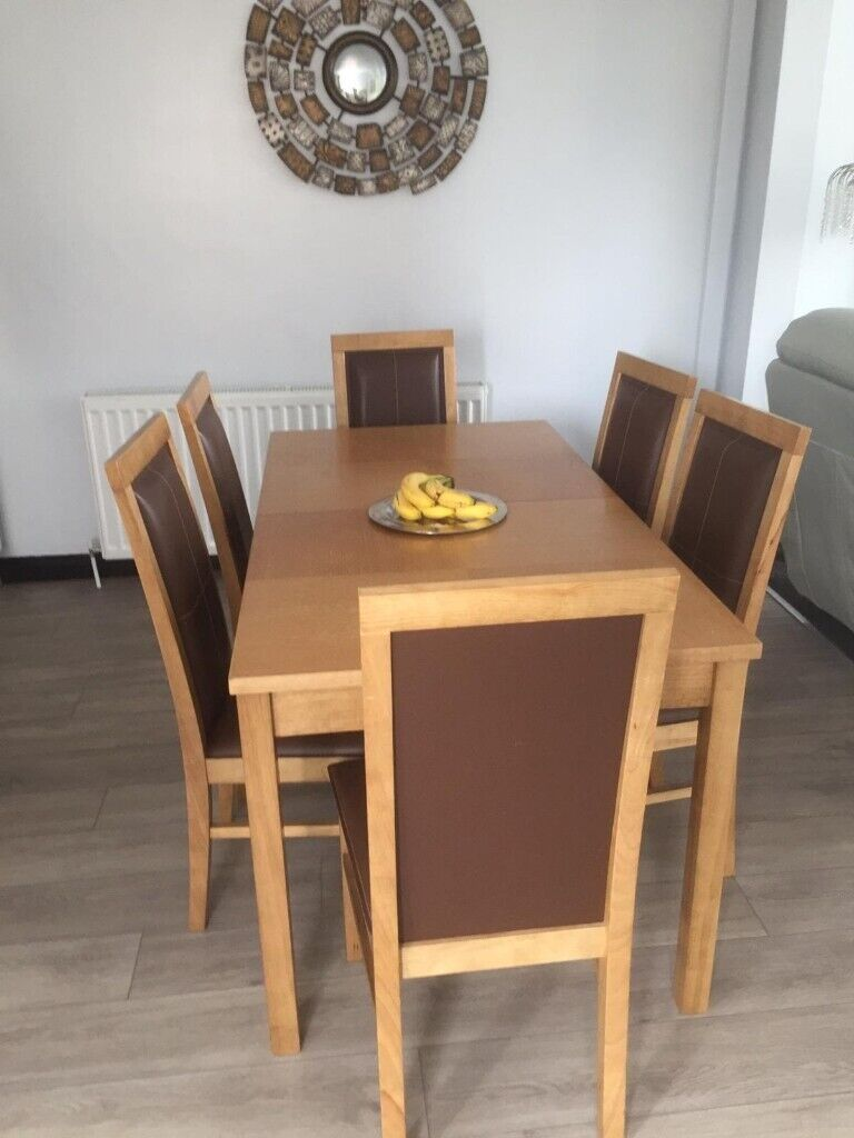 Dining Table Set 6 Seater In Hamilton South Lanarkshire Gumtree