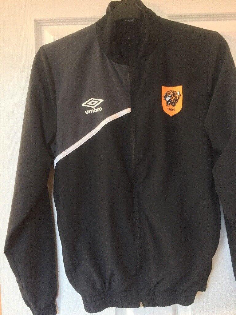 Hull city jacket sm man / youth zip pockets