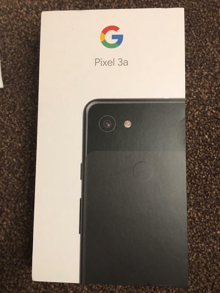 Google pixel 3a sealed box brand new Sim free   in Wimbledon, London    Gumtree