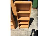 3x Small Ikea bookcase/dvd cabinet