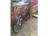 Custom built hard tail mountain bike!
