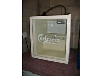 Carlsberg Drinks Fridge ideal for parties or Man Shed