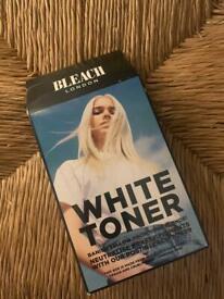 White toner for hair