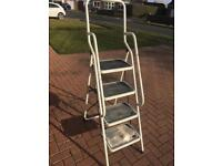 Step ladders very sturdy good condition