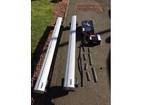 Thule Wingbar 962, Thule footpack 754, Thule fitting kit 1445
