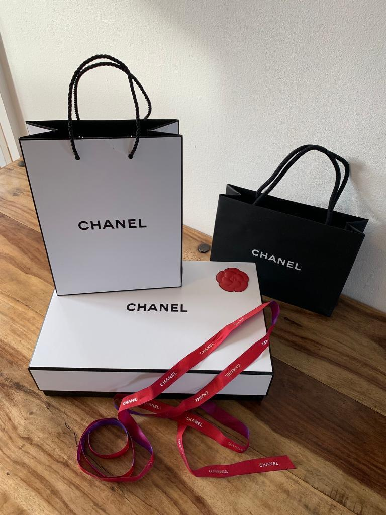 14d37fd434db18 Chanel gift box Chanel gift bag Chanel ribbon | in Hedge End ...