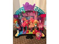 My Little Pony Equestria Girls Stage and Dolls.