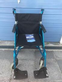Days swift wheelchair light blue excellent condition