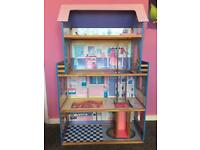 Barbie House & Furniture