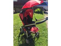 I-candy carry cot with pushchair and car seat **reduced**