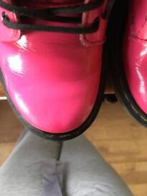 Pink Doc (Dr) Martens