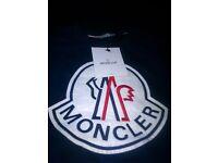 Blue Moncler Jumper, Size Large