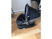 Maxi cosi car seat and family isofix
