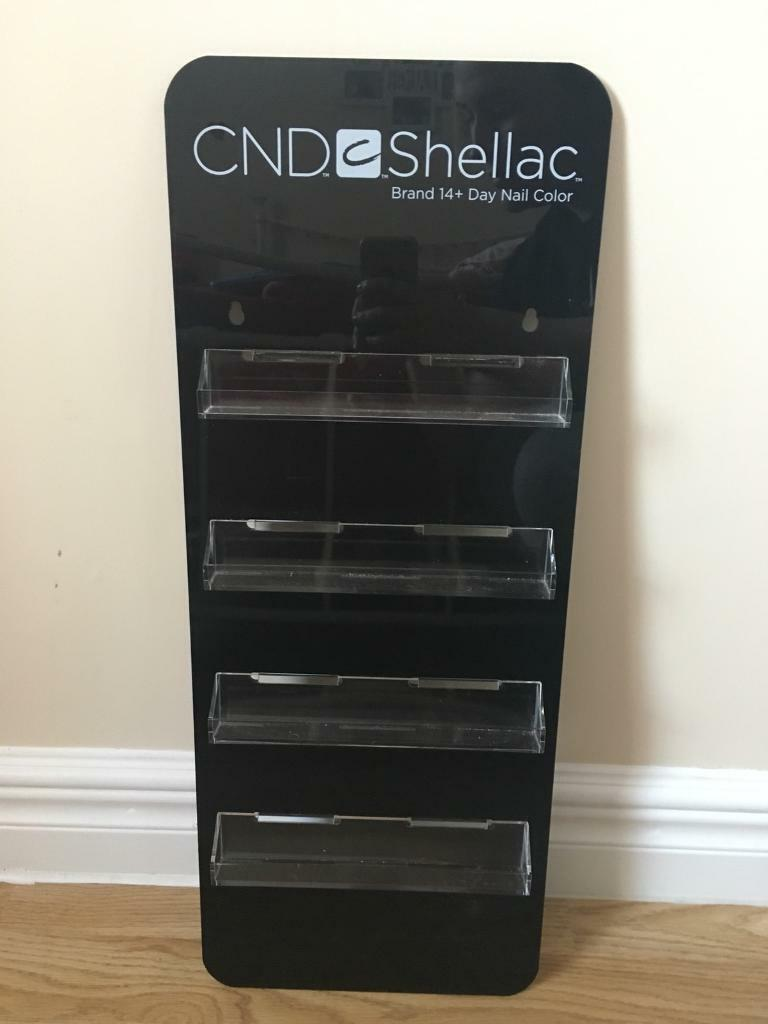 CND nail holder stand