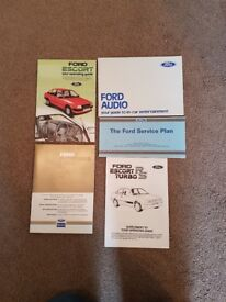 RS Turbo series 1 guides and service book