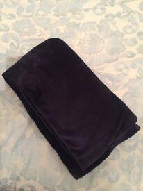 Blue Ralph Lauren blanket