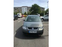 VW TOURAN 7 SEATER SE 2.0 TDI DIESEL 140 AUTOMATIC SAME AS FORD VAUXHALL