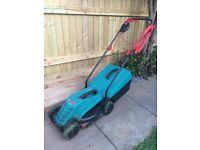 Bosch Rotak 32R lawnmower - nearly new - must go!