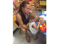 Temporary experienced afternoon nanny available in North-West London (Hendon area)