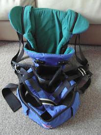 Kelty Kids Blue Kangaroo Baby Carrier