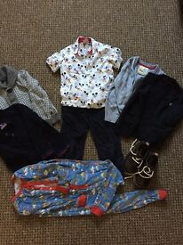 Selection of 2 year old boys clothing