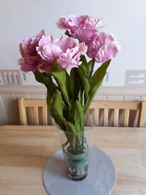 Artifical Flowers in Vase