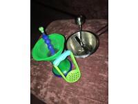 3 baby food mashers